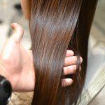縮毛矯正とカラーをしていても綺麗な髪