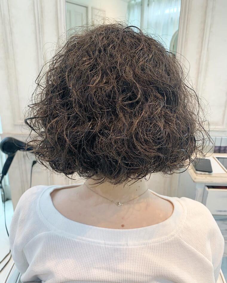 くせ毛を活かす東京大阪